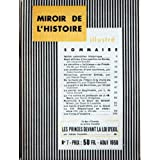 MIROIR DE L'HISTOIRE ILLUSTRE [No 7] du 01/08/1950 - 7 SIECLES D'OCCUPATION EN COREE PAR J. BOUDET - FREDERIC...