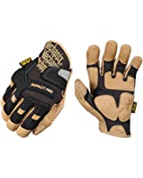 Mechanix Wear CG30-75-010 Commercial Grade Impact Protection Glove, Black, Large
