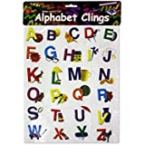 Bulk Buys Alphabet Window Clings - Case of 24