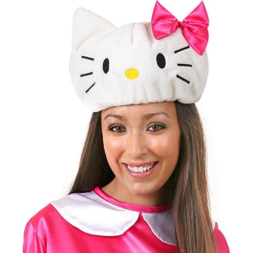 Hello Kitty Costume Hat (Size: Adult Standard Size)