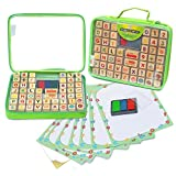 Alphabet Stamp Set Includes 67 piece with Organizer Case, Educational Toy for Kids – Develops Art & Craft Skills Best for Children, Teachers & Parents, Fun Travel Activity Kit | Excellent Gift for Kid