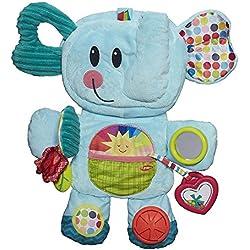 Playskool Fold 'n Go Busy Elephant - Blue