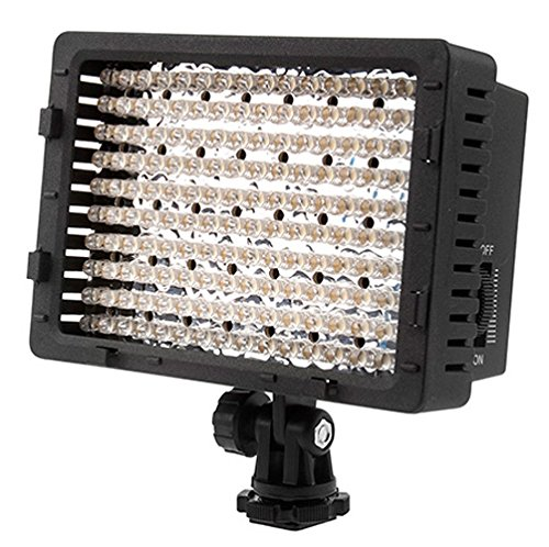Neewer® CN-160 160pcs LED Pannello LED da Potenza Ultra Alta Regolabile per Fotocamera Digitale / Videocamera Video Light, LED Light...