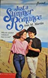 Just a Summer Romance (0590439995) by Martin, Ann M.