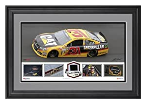 Jeff Burton Framed Collage with Race-Used Tire - Limited Edition of 500 - Memories -... by Sports Memorabilia