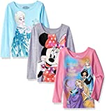 Disney Girls Little Girls Princess, Grey/Pink/Blue, 3T
