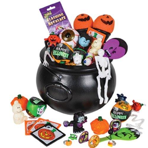 Toys For Halloween : New cauldron kettle full of halloween toys