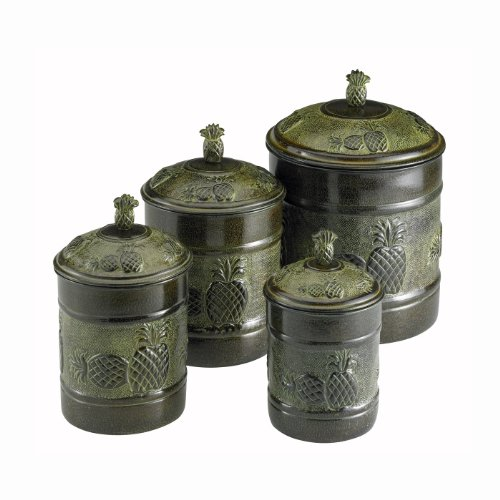 Piña Canister Set With Fresh Seal Covers, 4 Piece front-541182