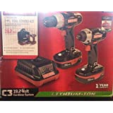 Craftsman C3 19.2V Drill and Impact Driver Combo Kit LED Light With Carry bag