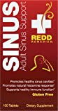 Redd Remedies Adult Sinus Support 100 Tabs