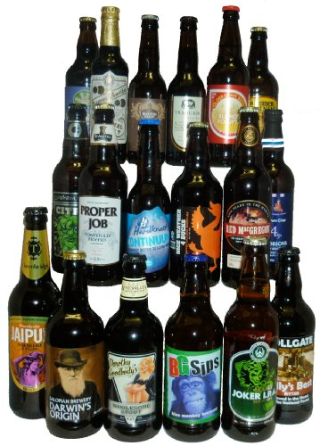 18 Bottle Best of British Real Ale Selection
