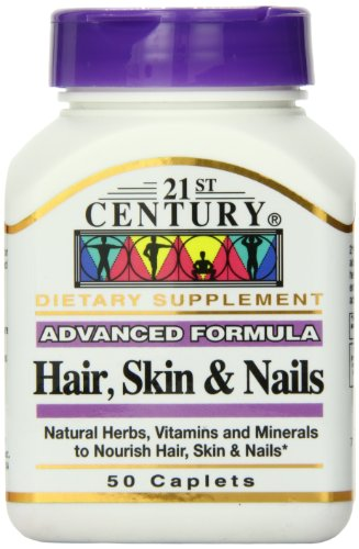 21st Century Hair, Skin and Nails 50 Caplet (Century 21 compare prices)