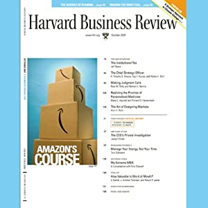 Harvard Business Review, October 2007 Periodical