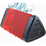 [New] OontZ Angle 3 Bluetooth Portable Speaker : Louder Volume with 10W+ Power, More Bass, Weatherproof IPX5 Wireless Shower Speaker (RED), by Cambridge SoundWorks