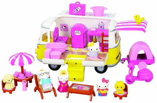 pazapa bj290363 poup e et mini poup e hello kitty camping car gayanaryu shops. Black Bedroom Furniture Sets. Home Design Ideas