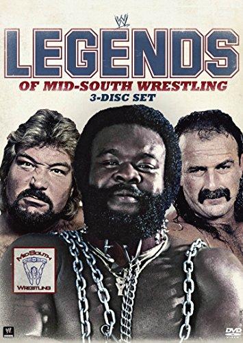 WWE レジェンド・オブ・ミッドサウス・レスリング (3枚組) [DVD]