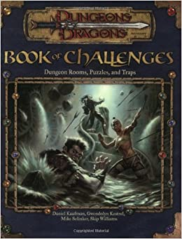 Book of Challenges: Dungeon Rooms, Puzzles, and Traps (Dungeons