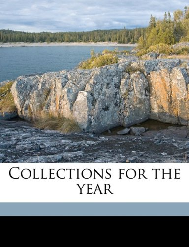 Collections for the yea, Volume 54