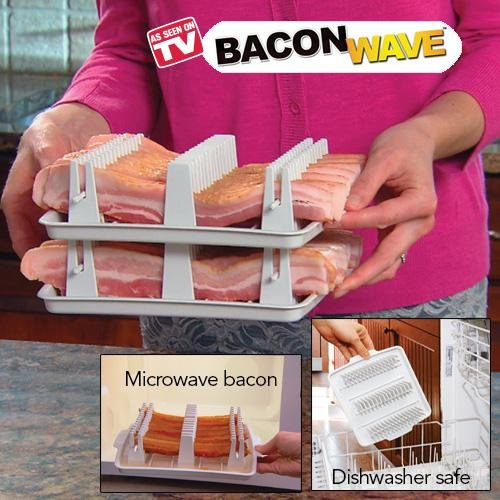 As Seen On Tv Bacon Wave Bacon Microwave Cooker