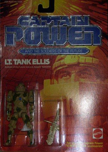 Buy Low Price Mattel Captain Power action figure Lt Tank Ellis (B004WLYTAA)