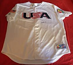 2012 Presidential Candidate Rudy Giuliani Autographed USA Baseball Jersey, Proof Photo