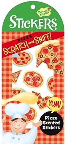 Peaceable Kingdom Scratch and Sniff Pizza Scented Sticker Pack