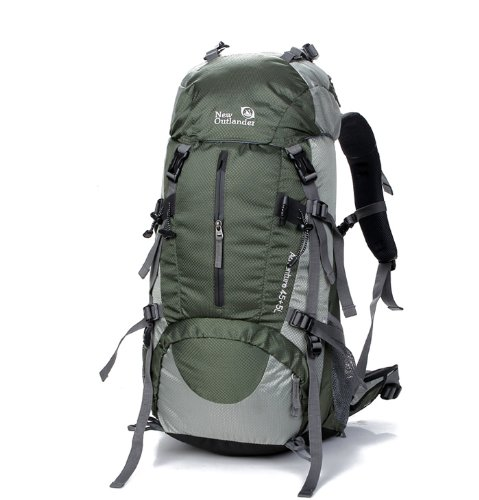 50L旅行用バックパック グリーン
