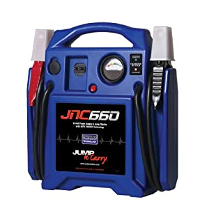 Amazon Gold Box Daily Deal: Clore Automotive JNC660 Jump-N-Carry 1,700 Peak Amp 12-Volt Jump Starter $99.95