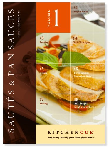 Kitchencue Instructional Dvd, Volume 1, Sautes And Pan Sauces