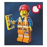 レゴ ミニフィギュア ムービーシリーズ LEGO THE LEGO MOVIE minifigures #71004 ヘルメットをかぶったエメット ミニフィグ ブロック 積み木