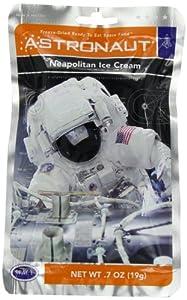 Astronaut Food Neapolitan Ice Cream
