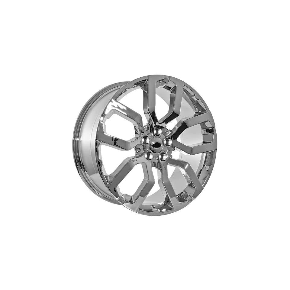 22 Inch Land Rover Wheels Rims Chrome (set of 4