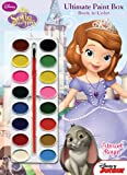 Disney Junior Sofia the First: Almost Royal: Ultimate Paint Box Book to Color