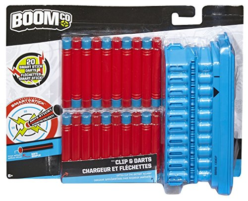 Boomco Caricatore Con 20 Freccette Rapid Madness - Bbr56