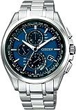 [シチズン]CITIZEN 腕時計 ATTESA アテッサ Eco-Drive エコ・ドライブ 電波時計 ダイレクトフライト 針表示式 薄型 AT8040-57L メンズ