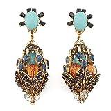 Grand Orb Clip Earrings by Bijoux Heart
