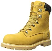 Chippewa Men's 8 Inch Golden Tan Nubuc Waterproof ST LQ Utility Boot