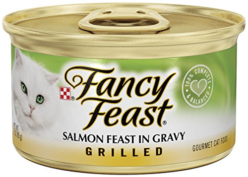 Fancy Feast Grilled Salmon Feast In Gravy