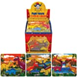 Dinosaurs Themed Jigsaw Puzzle - Pack of 12 - Assorted Design