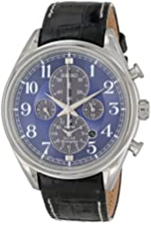 Seiko Men's SSC209 Analog Display Japanese Quartz Blue Watch