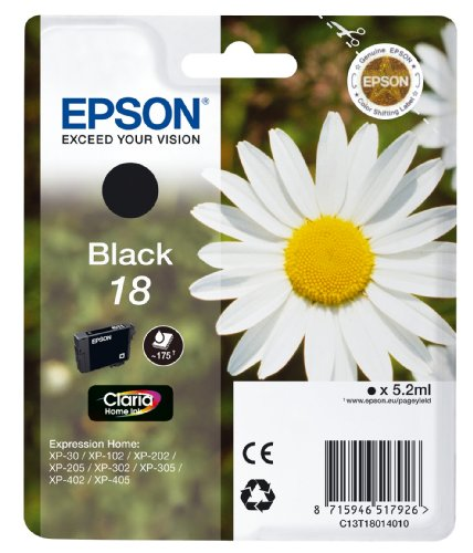 Epson XP30/ 102/ 202/ 302/ 405 Ink Cartridge - Black