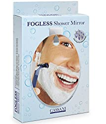 Fogless Shower Mirror - HIGHEST RATED! - Includes Razor Hook - Modern - Anti-Fog Nanotechnology - Exclusive To Amazon