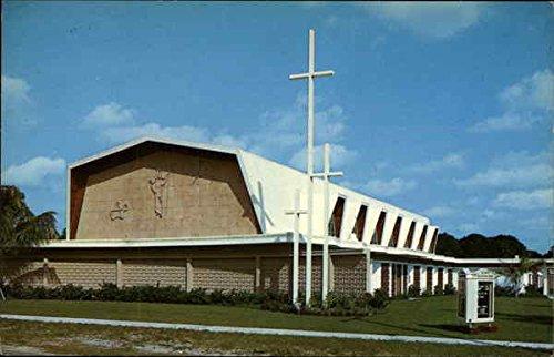 First United Evangelical Lutheran Church West Palm Beach, Fl Original Vintage Postcard
