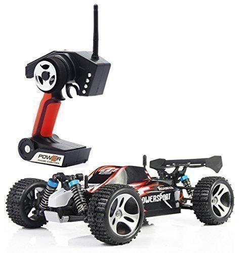 TOZO C1022 RC CAR High Speed 32MPH 4x4 Fast Race Cars 1:18 RC SCALE RTR Racing 4WD ELECTRIC POWER BUGGY W/2.4G Radio Remote control Off Road Truck Powersport Roadster Red (Rc Electric Car Fast compare prices)