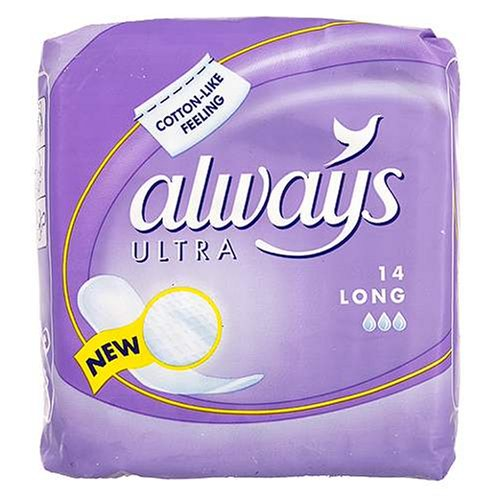 Always Ultra Sanitary Towels Long x 14