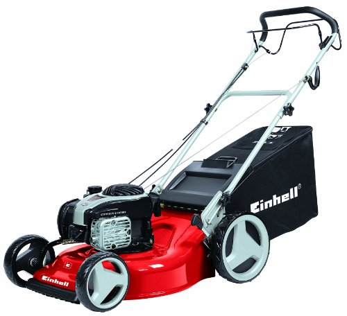 Einhell GC-PM 51/1S 51cm 3-in-1 Easy Start Self Propelled Petrol Lawnmower with a Briggs and Stratton Engine