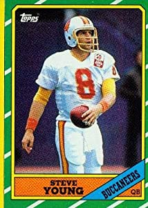 1986 Topps #374 Steve Young RC - Tampa Bay Buccaneers (RC - Rookie Card)(Football Cards)