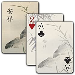 Peaceful Koi - Single Deck Playing Cards