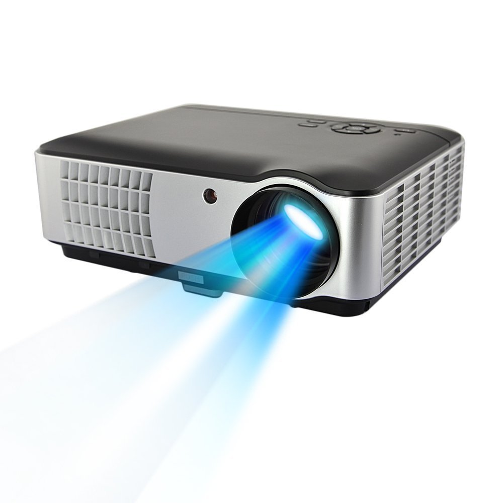 RD-806 HD 3D Digital LCD LED Video Projector Home Theater Video Games Gaming Business Presentations 1080p with HDMI/USB/AV/VGA/Component 1280x800 resolution 1500:1 2800 Lumens new arrival 3d gm50 uc40 fhd home theater mini projector for video games tv movie support hdmi vga av portable free shipping