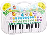 Toy - Simba 104015670 - Play and Learn Tier-Keyboard, 28 x 39 cm, verschiedene Sounds